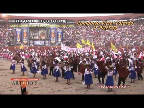 XXIV VENCEDORES DE AYACUCHO 2011-COMPARSA VICTOR FAJARDO
