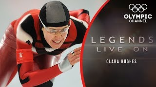 """Clara Hughes - The """"Olympic Delinquent"""" Who Won Six Medals 