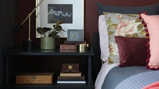 Interior Design — Budget-Friendly, Small & Colourful Condo Bedroom Makeover