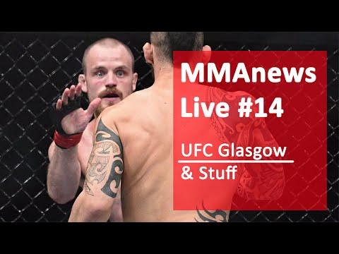 MMAnews Live #14 – Podsumowanie UFC Glasgow, dzisiaj o 17:00