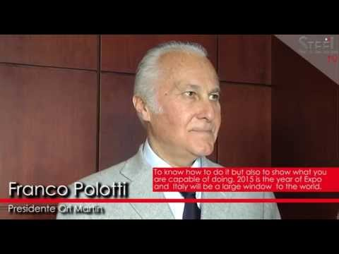 Franco Polotti about Made in Steel 2015