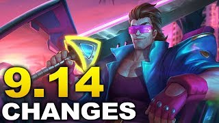 Huge changes coming soon in Patch 9.14 - Biggest Patch of Season 9 so far