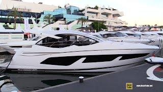 2019 Sunseeker Predator 50 Luxury Yacht - Deck, Interior Walkaround - 2018 Cannes Yachting Festival