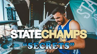 State Champs | Secrets | Drum Cam (LIVE)
