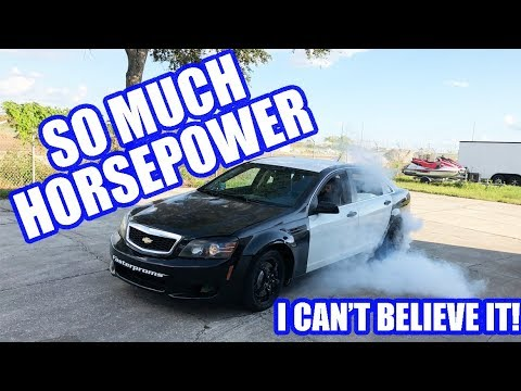Sam Makes Even CRAZIER Power! And Then Rips The Streets! 9 Sec Caprice Cop Car Ep. 12