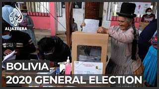 Polls close in Bolivia's high-stakes presidential election