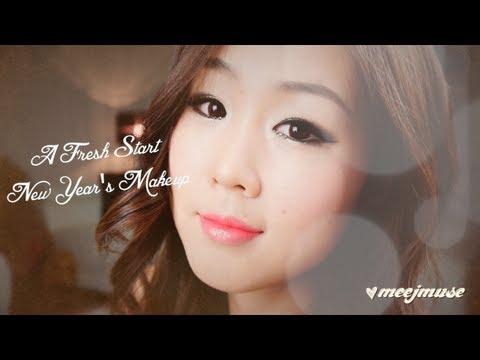 Korean New Year's Makeup - A Fresh Start ♥