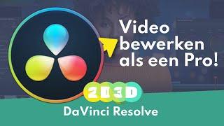 2D3D Resolve 14 intro