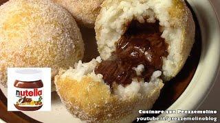 Arancini o Arancine Dolci alla Nutella con e senza bimby tm5 - Ricetta siciliana Dolce