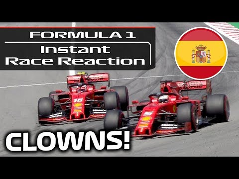 Instant Race Reaction to the 2019 F1 Spanish Grand Prix