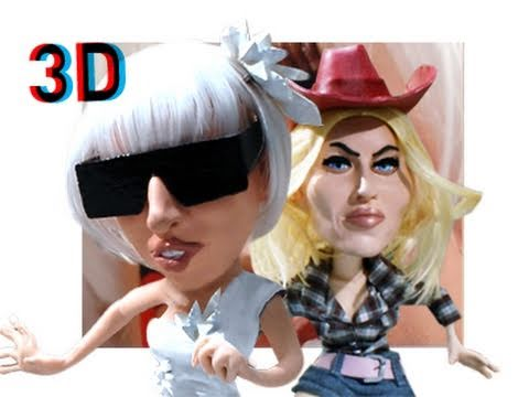 3D Lady Gaga / Madonna: a bloody Parody - Star Arena Exclusive Episode 01