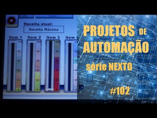 RECEITAS CLP NEXTO | Projetos de Automação #102