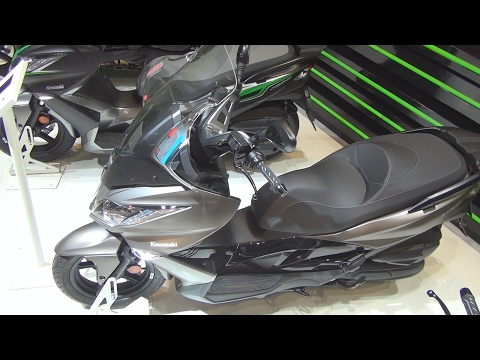 #Kawasaki J125 Givi (2017) Exterior and Interior in 3D