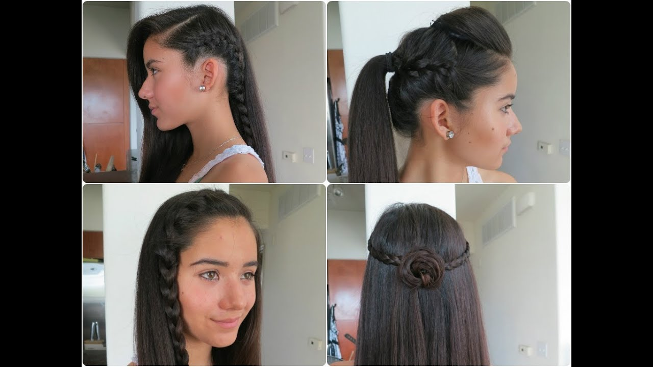 simple and easy hair styles 5 easy braided hairstyles for summer 2013 6760