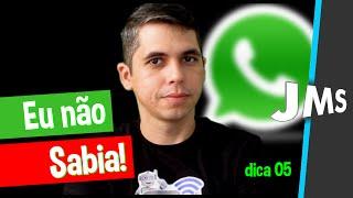 05 Curiosidades e truques do Whatsapp que você NÃO Sabia