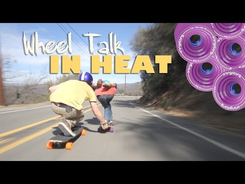 Orangatang In Heat Longboard Wheels 86A 75mm