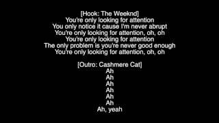 (Full Lyrics) Attention The Weeknd Ft. Cashmere Cat Album Starboy