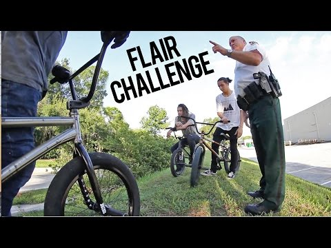 $100 BMX Flair Challenge – COPS