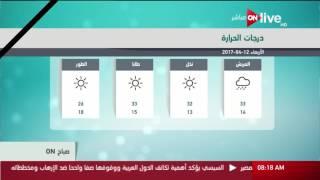 صباح ON: حالة الطقس اليوم في مصر 12 أبريل 2017 وتوقعات درجات ...