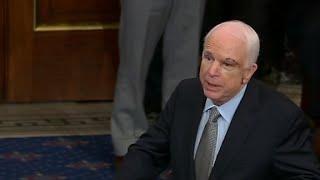 McCain returns to Senate floor (full speech)
