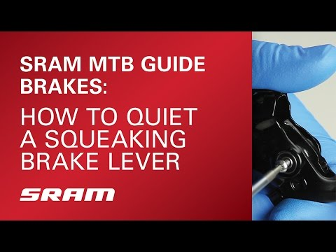 SRAM MTB: How to Quiet a Squeaking Guide Brake Lever