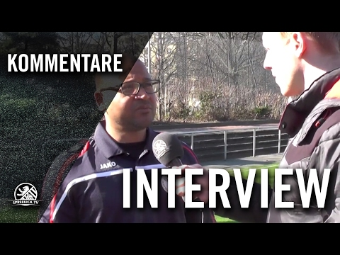 Interview mit Abu Njie (Interimstrainer Berliner AK 07) | SPREEKICK.TV