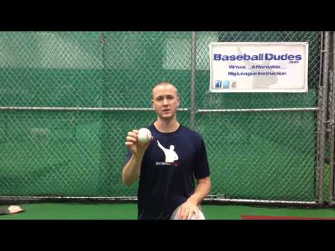 "Baseball Dudes Video Tip ""2 Seam Fastball"" w/Chris Gissell"