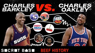 Charles Barkley's beef with Charles Oakley includes a preseason brawl and multiple face slaps