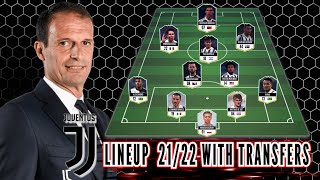 Juventus Potential Lineup 21/22 With Transfers! Feat Weston McKennie
