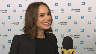 Natalie Portman Says She's 'Very Excited' for Avengers: Endgame to Come Out (Exclusive)