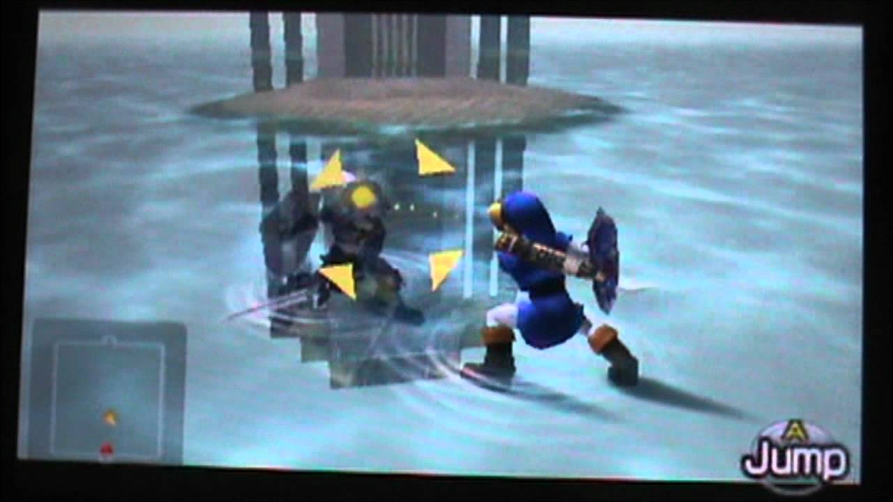 The Legend of Zelda Ocarina of Time 3DS Dark Link Boss ...