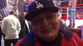 Coach Henry Ramirez Talks Arreola Vs Augustin & Spence Vs Garcia