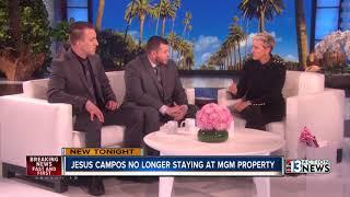 Jesus Campos no longer staying at MGM property