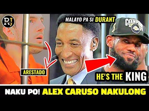 NAKU PO! Alex Caruso INARESTO ng PULIS   LeBron, IPINAGTANGGOL ni Scottie Pippen
