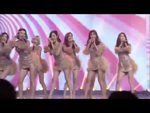 2016江苏卫视猴年春晚 歌曲《Gee》少女时代