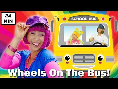 Wheels On The Bus | Plus Lots More Nursery Rhymes & Kids Songs | 24min Compilation from Debbie Doo