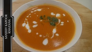 Tomato Carrot and Coconut Milk Soup ..