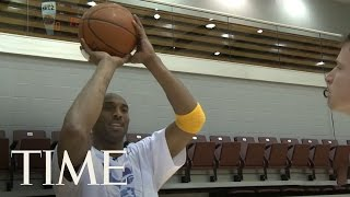 Los Angeles Lakers: Kobe Bryant Gives A Free Lesson | TIME