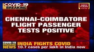 Passenger onboard Chennai-Coimbatore IndiGo flight tested ..