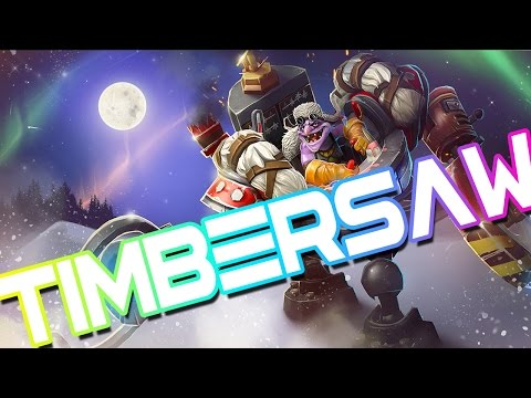 Dota 2 - Timbersaw - Parody of Timber by Pitbull ft. Kesha