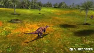 Dino Hunter #1 morri para o T-Rex
