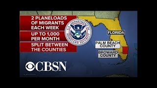 Trump admin. may send migrants to Democratic strongholds in Florida - YouTube
