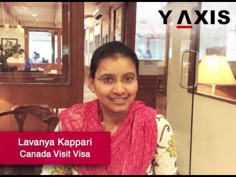 Lavanya Kappari Canada Visit Visa PC Bindu