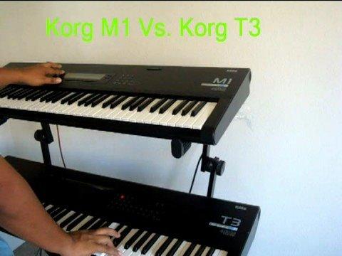 korg M1 Vs. Korg T3- EN VENTA (760) 691-6268 Compra con los mejores.