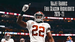 Najee Harris Full Season 2020-21 Highlights