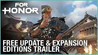 For Honor - Marching Fire Free Update & Expansion Editions Trailer