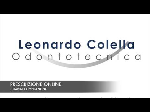 TUTORIAL PRESCRIZIONE DIGITALE