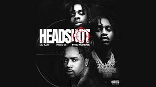 Lil Tjay - Headshot (feat. Polo G & Fivio Foreign) (Official Audio)