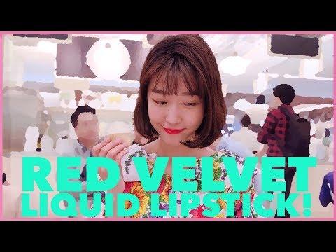 REVIEW LIPSTIK RED VELVET?!?!?! ✨LIPSTIK IDOL KOREA?😱