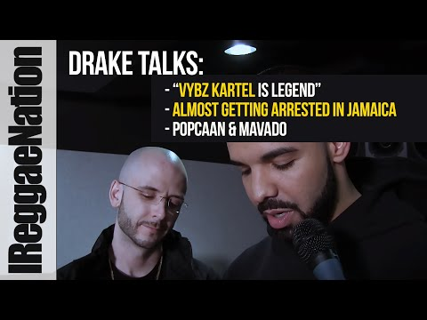 "Drake Talks: ""Vybz Kartel is legend""   Near Arrest in Jamaica   Popcaan & Mavado"